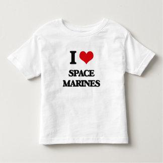 I Love Space Marines Tshirts