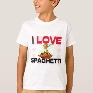 I Love Spaghetti T-Shirt