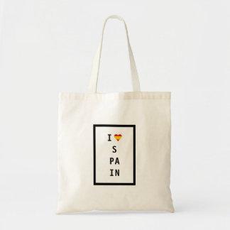 I Love Spain Tote Bag