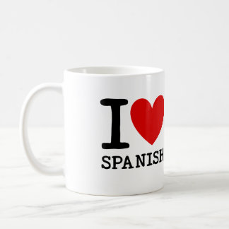 I Love Spanish Teacher Mug