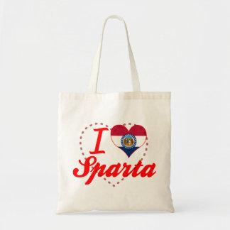 I Love Sparta, Missouri Canvas Bag
