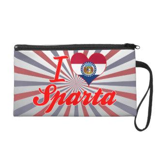 I Love Sparta, Missouri Wristlet