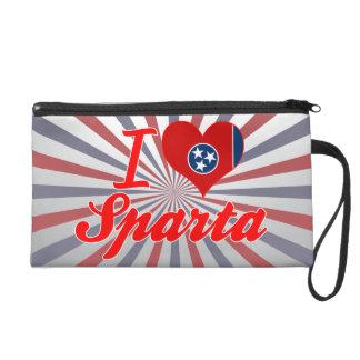 I Love Sparta, Tennessee Wristlet Purses