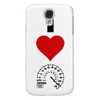 I Love Speed (Vertical) Galaxy S4 Case