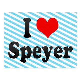 I Love Speyer, Germany Postcard