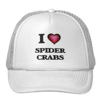 I Love Spider Crabs Trucker Hat