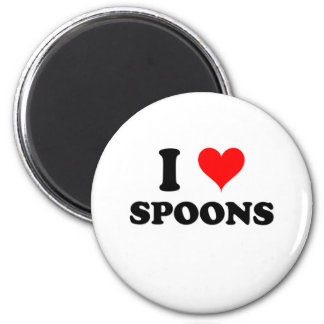 I Love Spoons Magnets