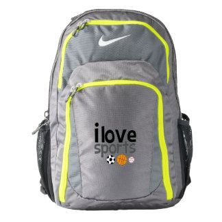 I love Sports Deluxe Back Pack