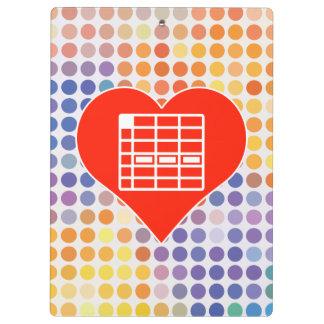 I Love Spreadsheet Clipboard