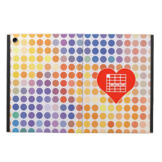 I Love Spreadsheet iPad Air Case