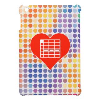 I Love Spreadsheet iPad Mini Covers