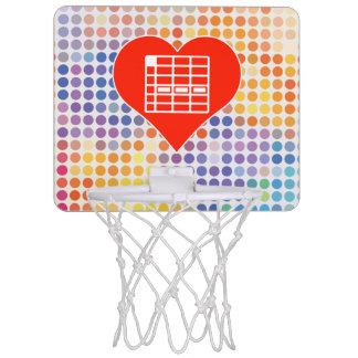 I Love Spreadsheet Mini Basketball Hoop