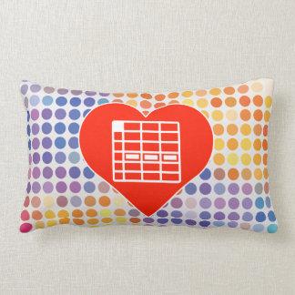 I Love Spreadsheet Pillow