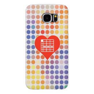 I Love Spreadsheet Samsung Galaxy S6 Cases