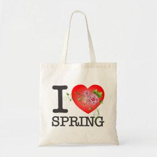 I Love Spring Budget Tote