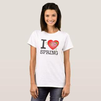 I Love Spring Women's White T-Shirt
