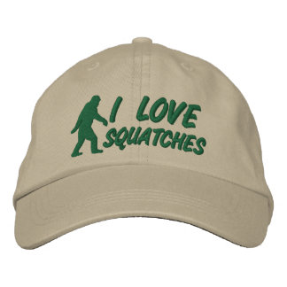 I love Squatches Embroidered Baseball Cap