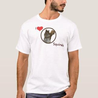 I Love Squirrels T-Shirt