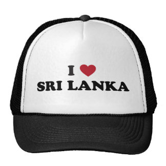 I Love Sri Lanka Trucker Hat