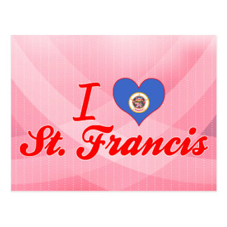 I Love St. Francis, Minnesota Post Cards