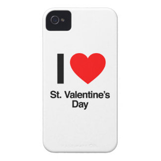 i love st. valentine's day iPhone 4 Case-Mate cases