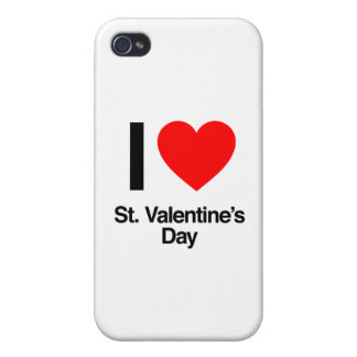 i love st. valentine's day iPhone 4 covers