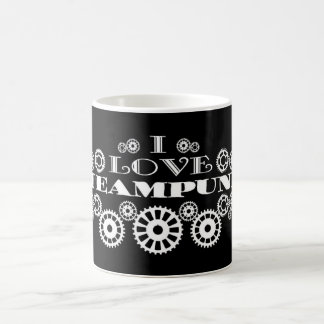 I Love Steampunk Coffee Mug