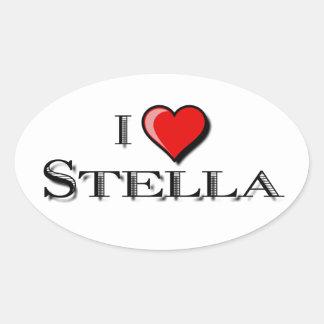 I Love Stella Stickers