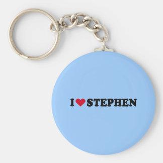 I LOVE STEPHEN KEYCHAIN