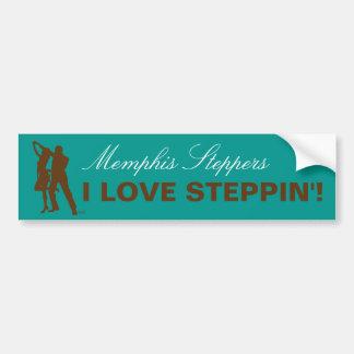 I Love Steppin' - Memphis Bumper Sticker