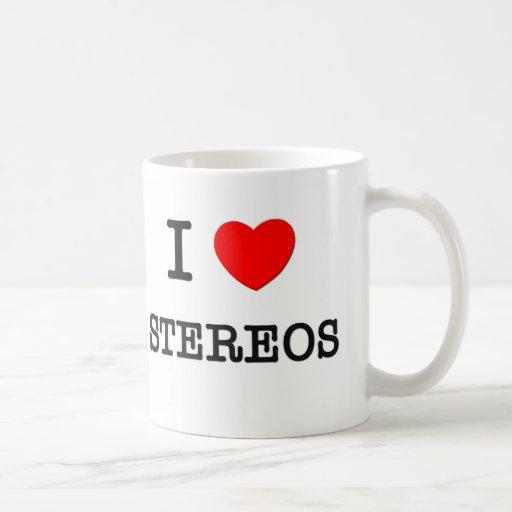 I Love Stereos Mugs
