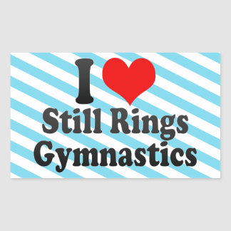 I love Still Rings Gymnastics