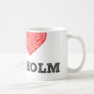 I love Stockholm Coffee Mug