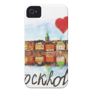 I love Stockholm iPhone 4 Cases