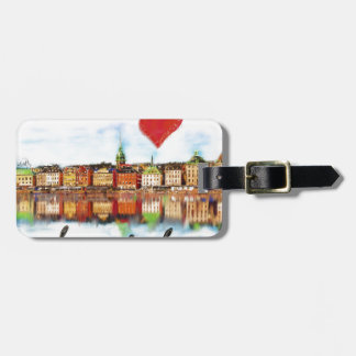 I love Stockholm Luggage Tag