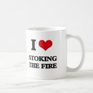 I love Stoking The Fire Coffee Mug