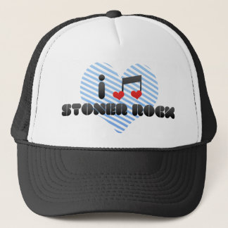 I Love Stoner Rock Trucker Hat