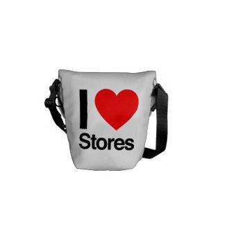 i love stores courier bag