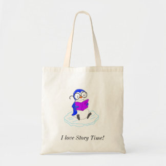 I Love Story Time! Tote Bag