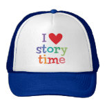 I Love Storytime T-Shirts & Gifts Trucker Hats