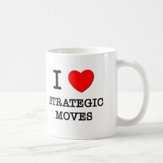 I Love Strategic Moves Mugs