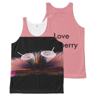 I Love Strawberry tank top