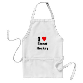 I love street Hockey Standard Apron