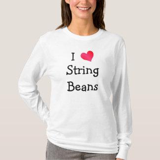I Love String Beans T-Shirt