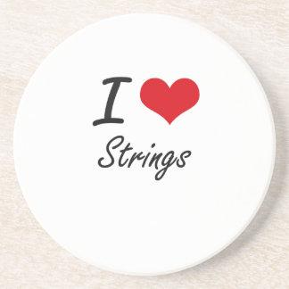 I love Strings Coaster