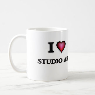 I Love Studio Art Coffee Mug