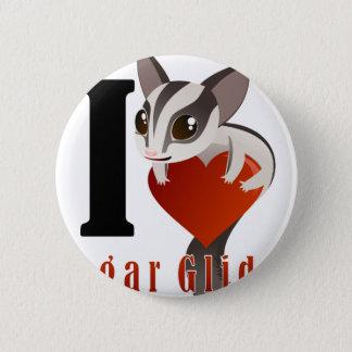 I Love Sugar Glider 2 Inch Round Button
