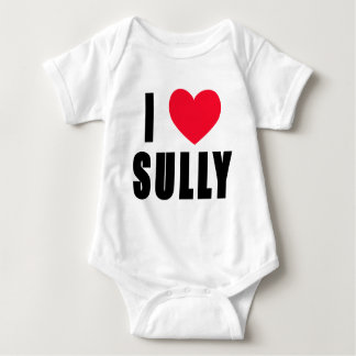 I Love Sully I HEART Sully Baby Bodysuit
