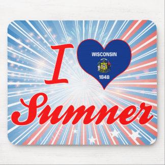 I Love Sumner, Wisconsin Mousepad