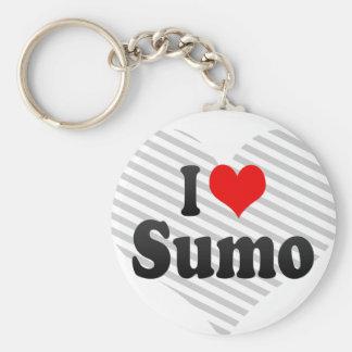 I love Sumo Keychain